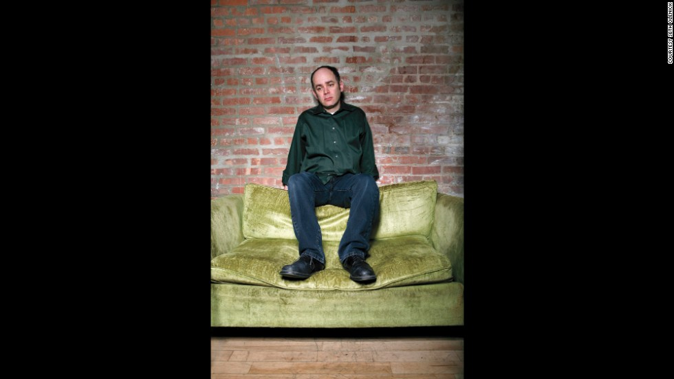"<strong>Todd Barry:</strong> ""I still own that green shirt. Probably the pants, too. Not sure why I was pushing the ""sad clown"" thing so hard."""