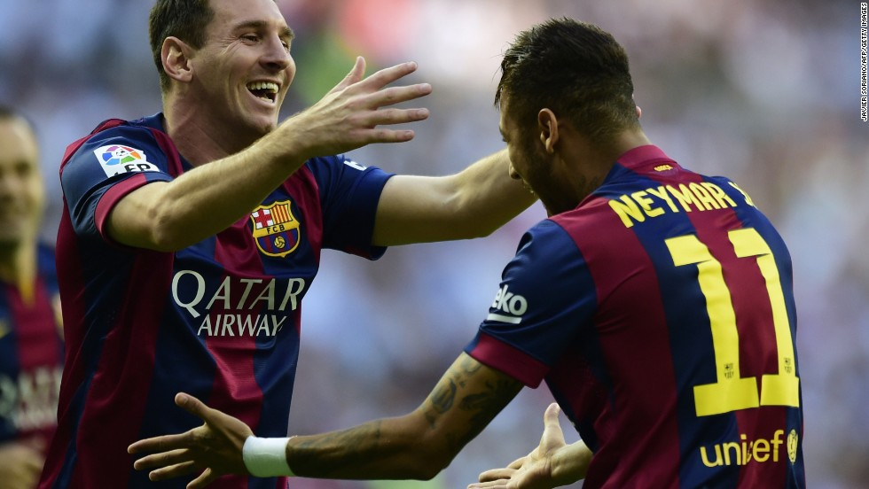 Neymar's 21 league goals, and his understanding with Messi and Suarez, has helped propel Barcelona towards a possible treble.