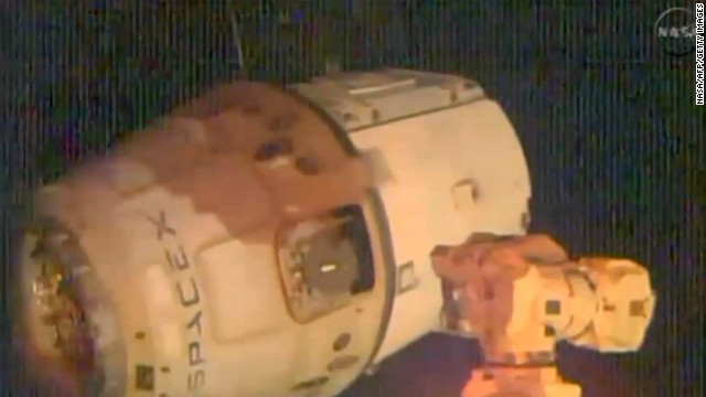 SpaceX's unmanned Dragon capsule leaves the ISS on Saturday.