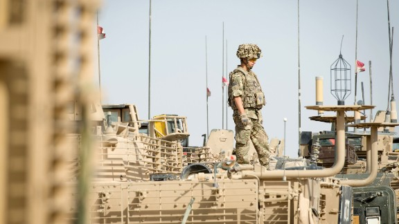 British troops handed over Camp Bastion to Afghan forces on October 14. It came under attack earlier this week.