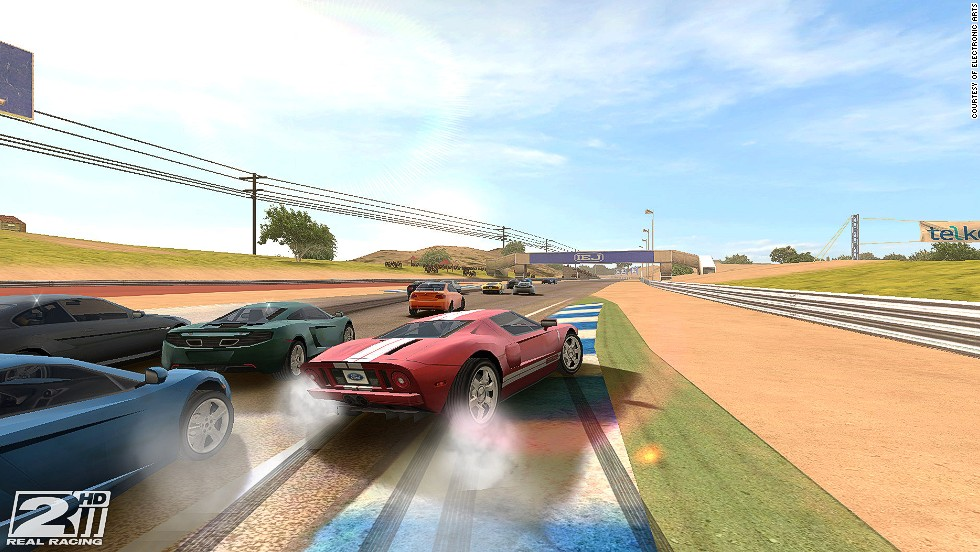 Real Racing 3 is considered one of the most successful mobile racing games on the market (and it's free).