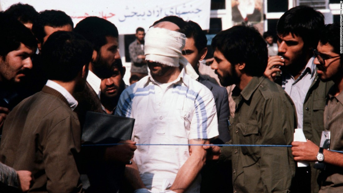 Thirty-six years ago, militant students supporting Iran's Islamic Revolution stormed the U.S. Embassy in Tehran and took scores of hostages. Ultimately, 52 Americans were held for 444 days. Click through the gallery to see how the crisis unfolded.
