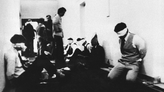 After storming the embassy, a group of students took 90 people hostage, including 66 Americans. They demanded the extradition of the Shah from the United States, where the ousted ruler was receiving cancer treatment. Ayatollah Khomeini issued a statement of support for the students