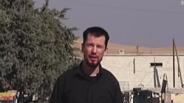British hostage seen in new ISIS video