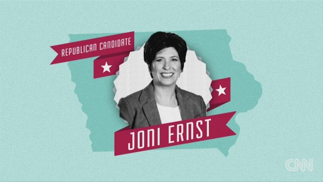 What makes candidate Joni Ernst special?