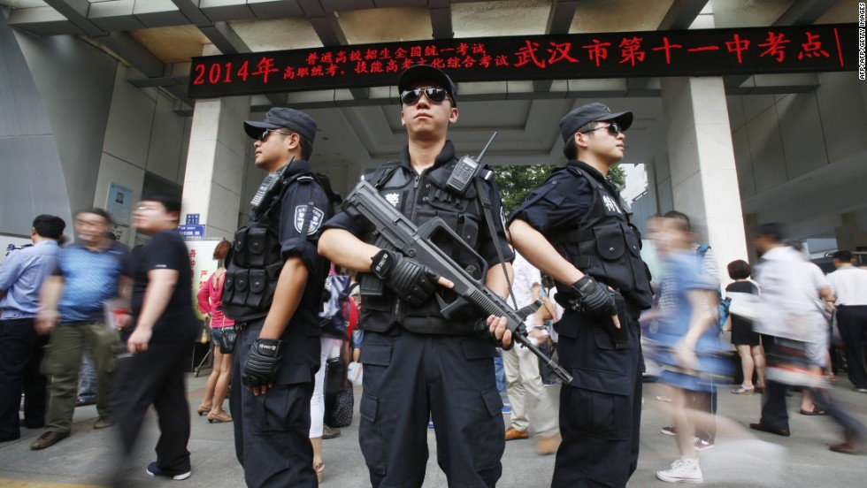 Massive cheating scandal rocks China