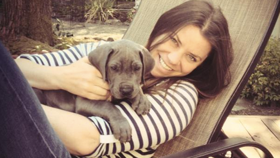 Brittany Maynard with her dog Charley in San Francisco. Maynard, a 29-year-old with terminal brain cancer, has died, advocacy group Compassion and Choices said in a Facebook post on Sunday. Click through to see more photos of Maynard