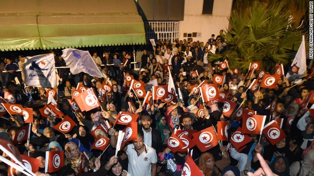 Tunisia's election process began in October with a vote for parliament.