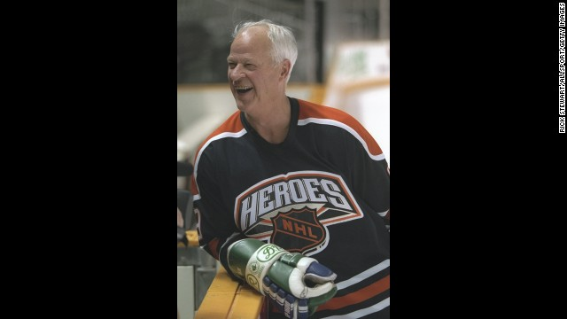 Gordie Howe scored 801 goals in his NHL career and is considered one of the best players of all time.
