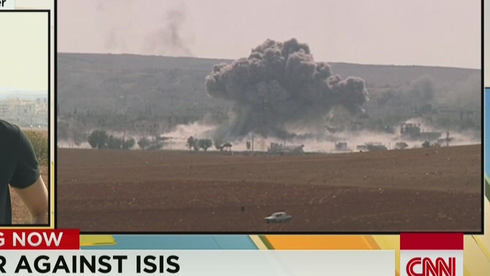 Armed Syrian rebels enter Kobani