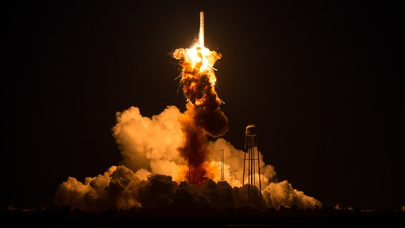 On what was to be a resupply mission to the International Space Station, an unmanned NASA-contracted rocket exploded seconds after launch Tuesday, October 28, on the coast of Virginia. The launchpad was damaged, but no one was injured.
