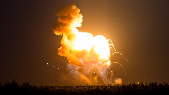 The rocket and spacecraft -- which together cost more than $200 million, according to Frank Culbertson, the general manager of Orbital's Advanced Programs Group -- are gone.