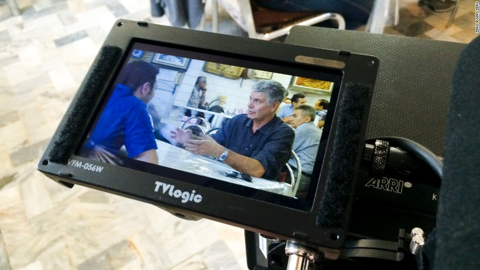Anthony Bourdain joins two young Iranians for chelo kabab, as close as you can come to a national dish in Iran, in a restaurant in Tehran's bazaar.