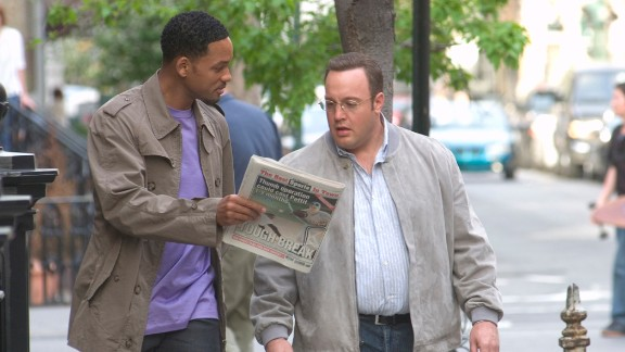 """""""Hitch"""": Will Smith's 2005 romantic comedy with Kevin James is in steady rotation on cable TV, but that isn't stopping Fox from pursuing a TV series that would adopt the story into a workplace comedy."""