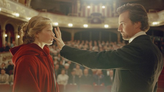 """""""The Illusionist"""": This 2006 romantic drama starred Jessica Biel and Ed Norton in a story that followed a magician using his talent to get a woman to fall in love with him. That kind of drama is right up the CW's alley, and the network is working on turning it into a drama set in 20th-century New York."""