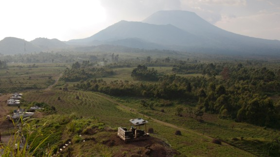 Parts of Goma were destroyed by molten lava in January 2012 after the eruption of the Mount Nyiragongo volcano, which lies approximately 10 kilometers (six miles) north of the town.