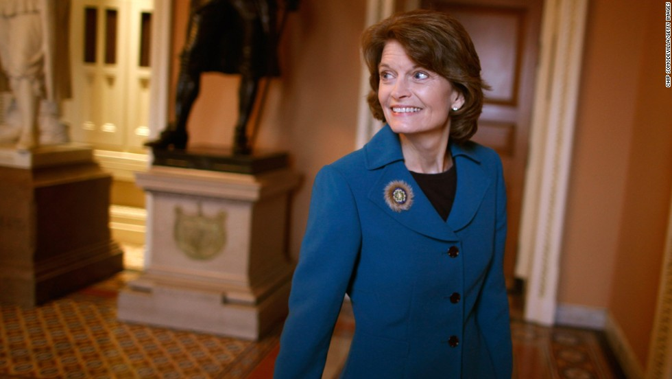 Sen. Lisa Murkowski would lead Energy and Natural Resources Committee. She is expected to push to lift the ban on exporting crude oil and build support for the Keystone XL Pipeline.