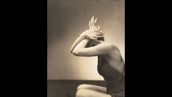 Steichen was also a respected painter, evident in pictures like this one, in which an unknown model poses for a hand and nail care feature in Vogue, June 1, 1934.