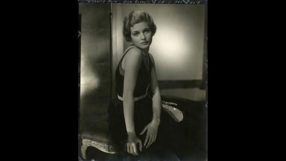 Steichen's portrait background revolutionized the nascent world of fashion photography. Here is actress Joan Bennett, in Vanity Fair, December 1, 1928.