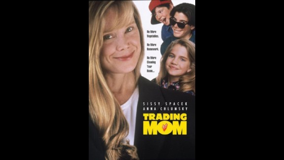 """Trading Mom"" (1994): Sissy Spacek plays four  characters in this comedy about a family who tries out several new ""Mommys."" (Netflix)"