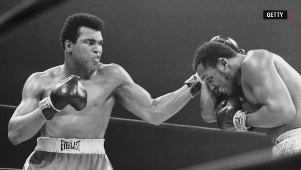 My father: Muhammad Ali