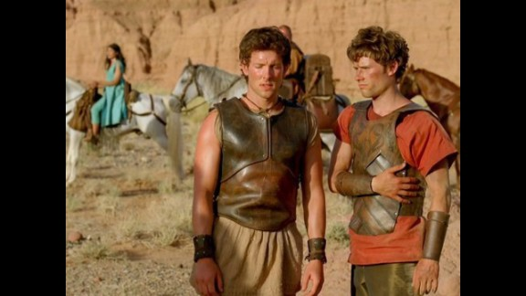 """Atlantis Season 1"":  BBC America's 13-part fantasy adventure series is set in a time of legendary heroes and mythical creatures and stars Mark Addy, Jemima Rooper, Robert Emms and Jack Donnelly. (Hulu)"