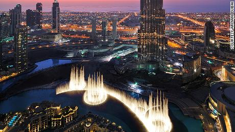 Choreographing Dubai's giant fountain