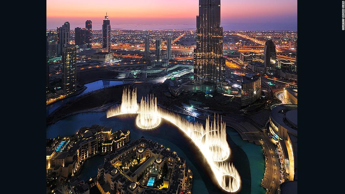 Choreographing Dubai's giant fountain