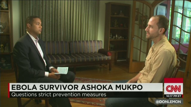 Mukpo: 'CDC was criticized far too much'