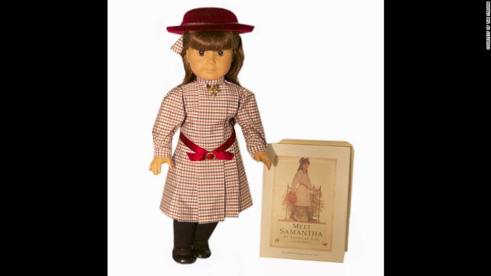 American Girl dolls were introduced in 1986 to tell the story of a social and cultural period in America's past. Each of the 18-inch dolls is paired with a series of books that tells the story of her life in different time periods, from colonial America to World War II. The Pleasant Company also makes My American Girl Dolls, which can be designed to look like their owners.<br />