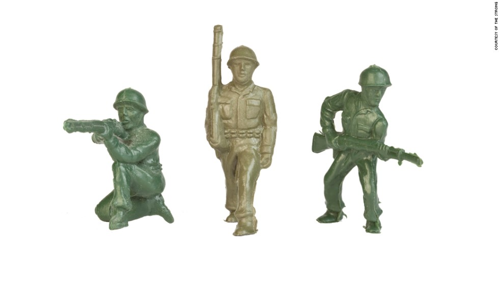 Little green Army men have fought for a spot in the Hall of Fame before, and in 2014, they earned it. IN 2013, they lost out to the rubber duck and chess.
