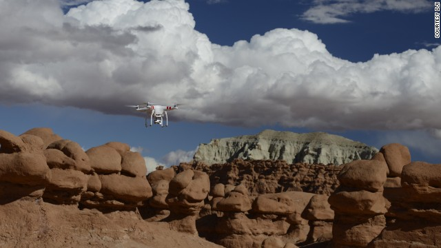"Drones like the Phantom will soon become another ""camera in your bag,"" says maker DJI."
