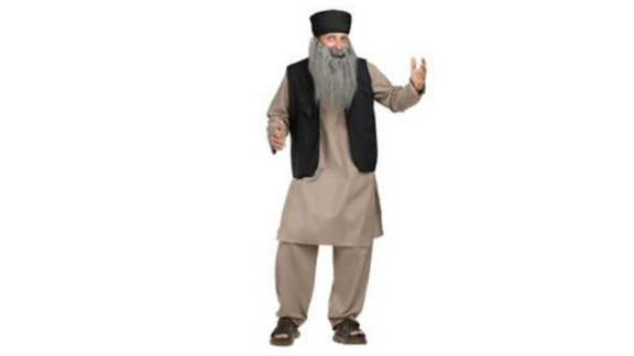 "Walmart faced criticism for advertising a ""Pashtun Papa"" costume on its website. Just like with blackface and whiteface, it"
