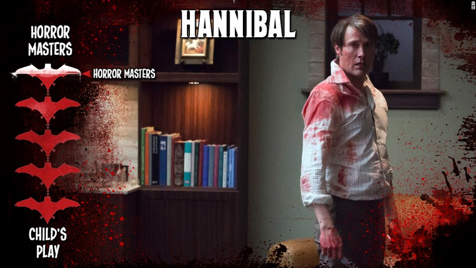 "Bryan Fuller has managed to make the act of cannibalism one gorgeous story to watch. With Mads Mikkelsen as Dr. Hannibal Lecter (before he starts chatting up Jodie Foster behind bars), ""Hannibal"" is a psychological thriller that pulls zero punches and makes no apologies for its reverent use of gore."