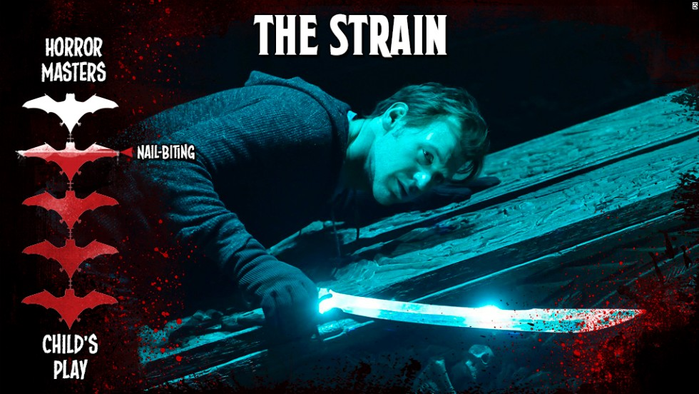 "Combine the minds of Guillermo del Toro and Carlton Cuse and you have a new vampire show that delivered on its sinister promise. There's gore, yes, but mostly ""The Strain"" crawls into your subconscious with the suspense of a rapidly spreading, absolutely gross form of vampirism."