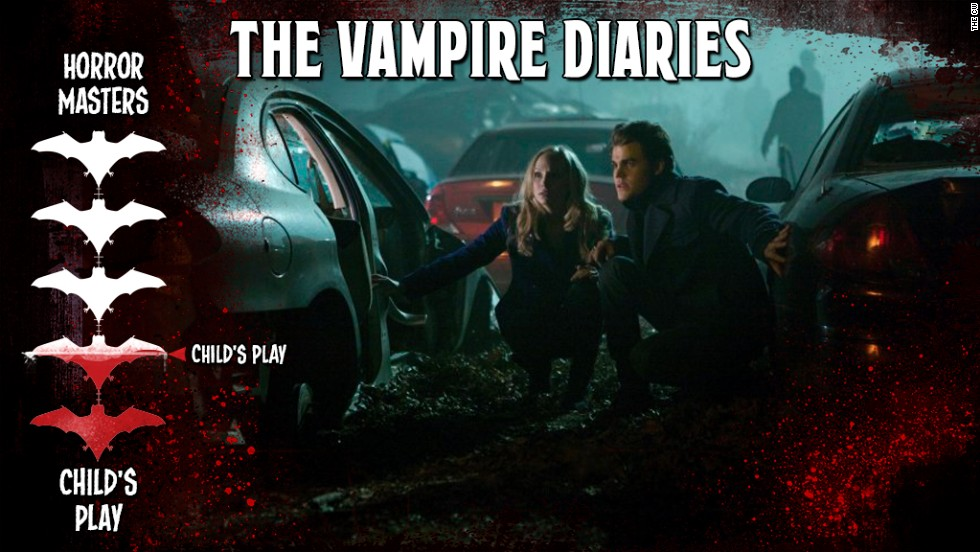 "When this series began in 2009, it was the antidote to the sparkly vampire fever that was sweeping the land. The early seasons had great moments of tension and jump scares. These days, between the neck-snapping, staking and hearts being ripped from chests, ""The Vampire Diaries"" is more of a bloody good time."