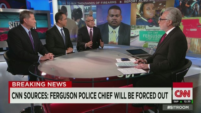 Ferguson police chief says he won't resign