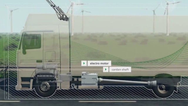 Siemens pushes for electrified highways