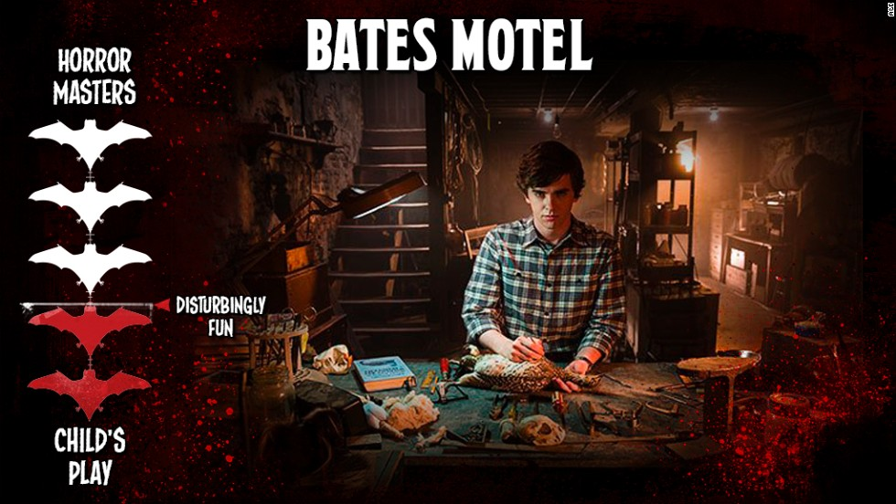 "Loosely pitched as a prequel to Alfred Hitchcock's horror classic ""Psycho,"" A&E smartly avoided trying to compete with the fright master. Instead, its well-crafted ""Bates Motel"" aims to strike right at the center of your ""this is creepy"" sensor, building just enough underlying tension and suspense without truly freaking anyone out."