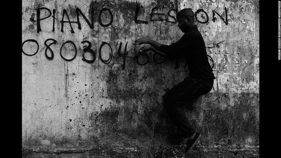 "<em>Abraham Oghobase, Untitled, 2012</em><br /><br />But LagosPhoto's wider goal remains to help unify and grow the local photography community. ""Five years ago, there were many exciting things happening in photography (in Lagos), but they were very dispersed,"" Gergel says. ""The community was already there, it just needed somehow to form in a cohesive way, and I think that's the success of LagosPhoto.""<br /><br /><a href=""http://www.lagosphotofestival.com/"" target=""_blank""><em>LagosPhoto</em></a><em> Festival runs from 25 October to 26 November 2014.</em>"
