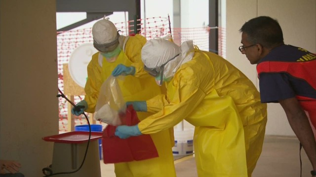 Volunteer training key to beating Ebola