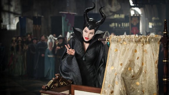 """Maleficent"" (2014): Angelina Jolie portrays the story of Sleeping Beauty from the villain's point of view. (iTunes)"