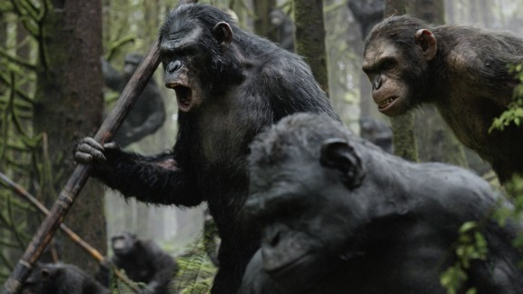 """Dawn of the Planet of the Apes"" (2014): See Andy Serkis in an emotional return as Caesar in the latest installment in the Apes franchise.  (iTunes)"