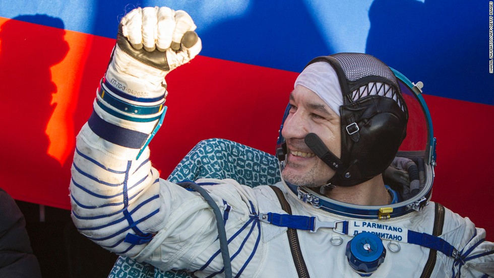 Water pooled inside the suit and helmet of Italian astronaut Luca Parmitano during a spacewalk outside the International Space Station in July 2013. He made it back to the airlock unharmed.