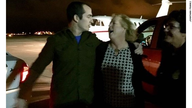Mexico freed U.S. Marine reservist Sgt. Andrew Paul Tahmooressi, shown here hugging his mother, after his release from a Mexican jail last year