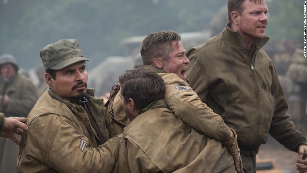 """Fury"" brought in $9.1 million at the box office this weekend, grossing $60 million in total."