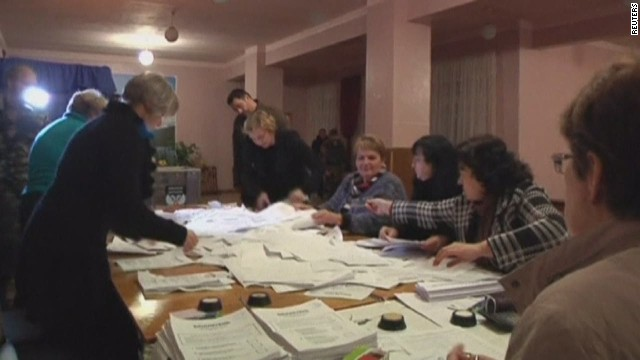 High turnout in separatist Ukraine vote
