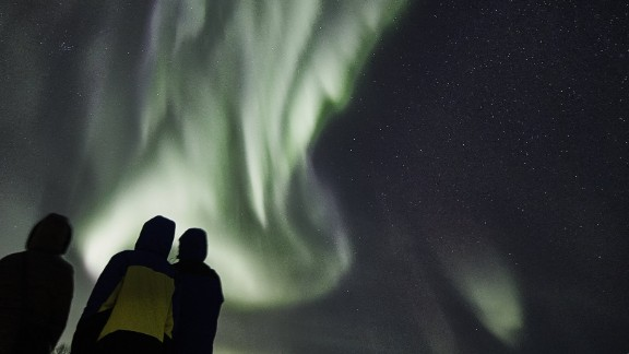 """These are the very best Northern Lights I have seen in my whole life (and I see them very often),"" said Francisco Damm, who runs the Tromso, Norway, branch of the Arctic Guide Service."