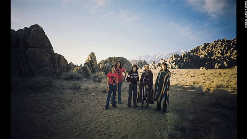 """I shot Paul McCartney in the Mojave desert in California in 1976,"" says Po. ""It was amazing to be there at that time, when he had just left the Beatles and was embarking on his solo career with a new band. In the middle of the day, he sent off a limo to get supplies, and we ended up having a barbecue in the middle of the desert. It was incredible. He was telling us all about what it was like for him being in the Beatles, and how free he felt afterward. Those intimate conversations were more valuable than anything, because they influenced the pictures and made them fresher and more informal."""