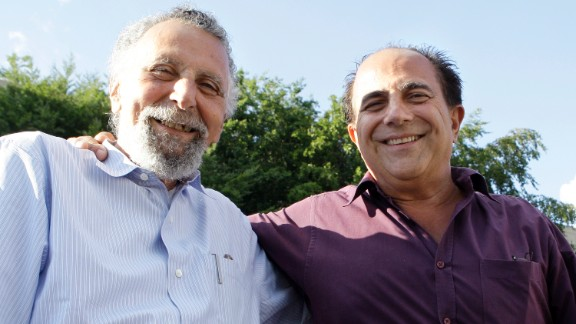 "Tom Magliozzi, left, half of the ""Click and Clack"" team of brothers who hosted NPR's ""Car Talk"" radio show, died November 3. He was 77."